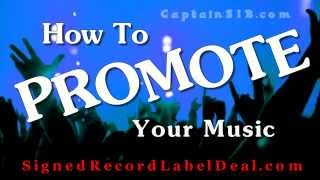 How To Promote Your Music Online - Music Promotion Tips - Online Music Promotion in 2014