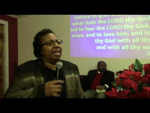Mother DuPree teaches on God's Requirements