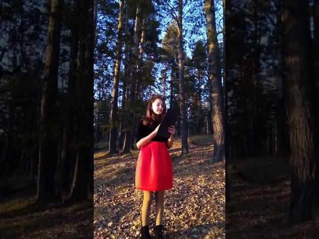 Изображение предпросмотра прочтения – РозалинаБаимова читает произведение «Край любимый! Сердцу снятся…» С.А.Есенина