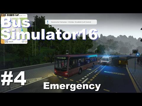 Bus Simulator 16   #4 Emergency  