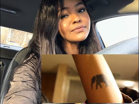 SOMALI GIRL GETS TATTOO FT. INKBOX (CLICKBAIT? PROBABLY)