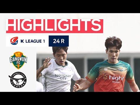 Gangwon Seongnam Goals And Highlights
