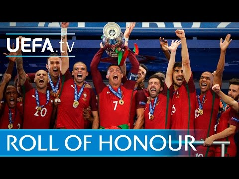 Portugal, Real Madrid, Sevilla: 2016 roll of honour