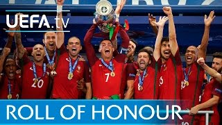 Portugal, Real Madrid, Sevilla: 2016 roll of honour