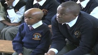 Boy who made Uhuru laugh joins Form One