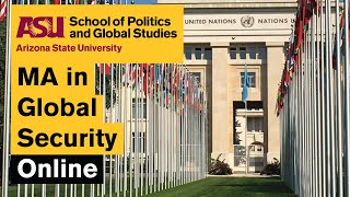 ASU Online MA in Global Security Degree