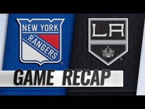 Kovalchuk, Martinez power Kings past Rangers, 4-3