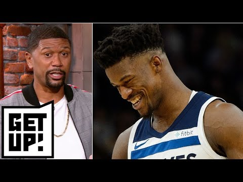 Timberwolves 'did Awful' In Jimmy Butler Trade - Jalen Rose L Get Up!
