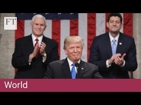 Trump lauds economic record in State of the Union address