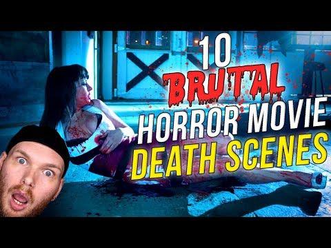 10 Brutal Horror Movie Death Scenes