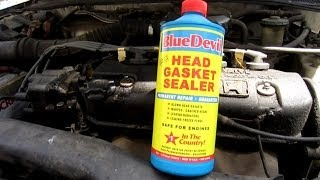BlueDevil Head Gasket Sealant Update - 2 months after