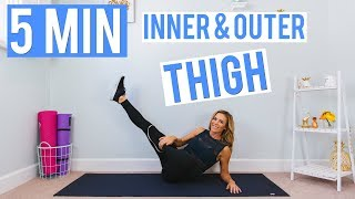 5 Minute Inner & Outer THIGH Workout