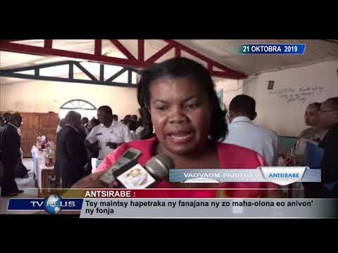 VAOVAOM PARITRA DU 21 OCTOBRE 2019 BY TV PLUS MADAGASCAR 2
