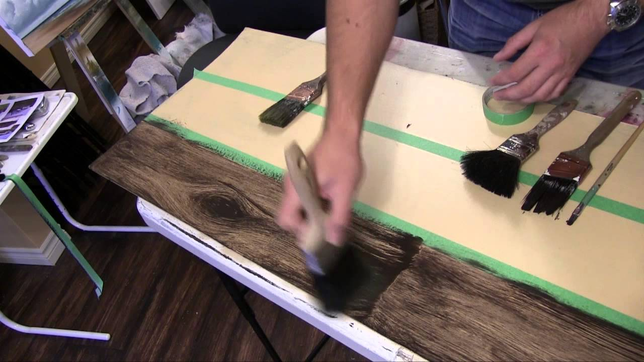 How To Paint A Faux Wood Floor Tutorial YouTube - What to look for in laminate wood flooring
