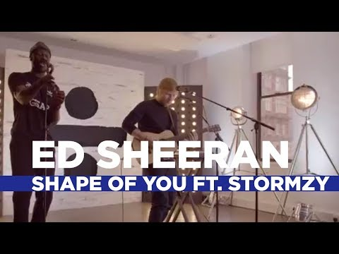 Ed Sheeran  Shape Of You Remix Ft Stormzy Capital  Session