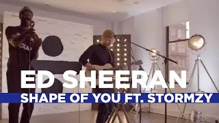 Ed Sheeran Shape Of You Remix Ft Stormzy Capital Live Session