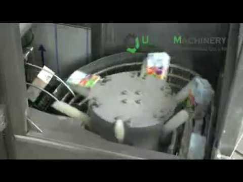 Automatic tetra pak juice filling and sealing machine