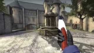 Gut Knife Damascus Steel - Factory New - CS:GO Skin Showcase - Chroma Collection
