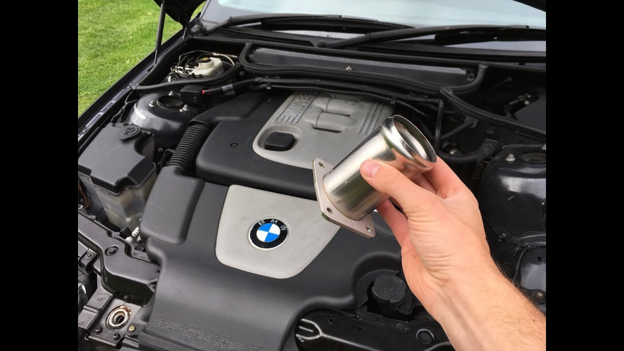 Installing An Egr Delete To The Bmw Daily 320d Youtube