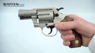 Colt Detective Special vernickelt 9mm RK. Schreckschuss-Waffen Test, Gaswaffen Test