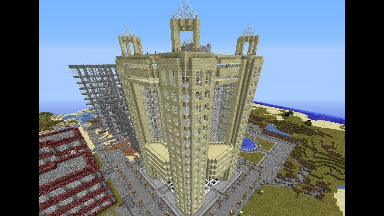 minecraft hotel dubai fairmont