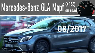 Mercedes-Benz GLA 180 MoPf X156 in road 4K