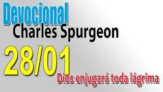 Devocional Charles Spurgeon 28/01 - Dios enjugará toda lágrima