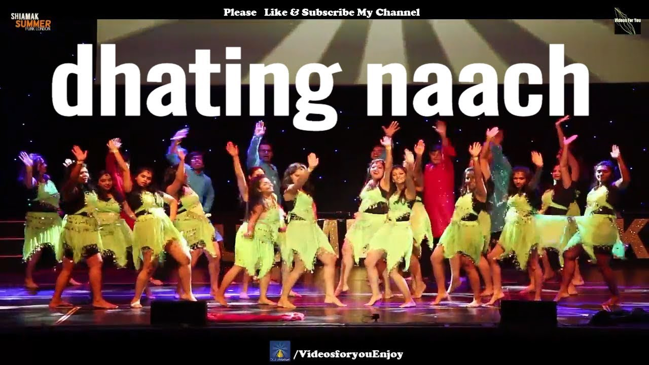 dhating naach video online