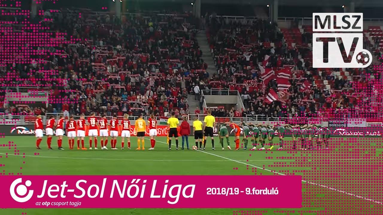 DVTK - FTC-Telekom | 1-4 | JET-SOL Liga | 9. forduló | MLSZTV