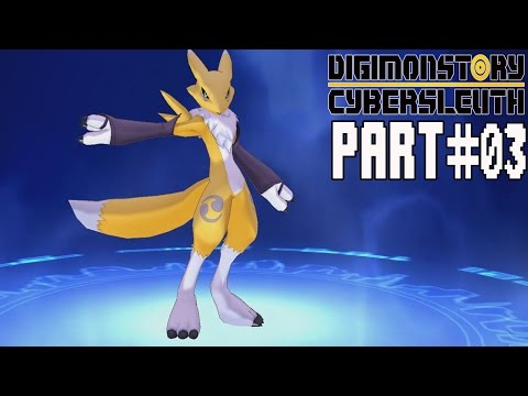 Digimon Story Cyber Sleuth Walkthrough Part 3 Gameplay Lets Play Review