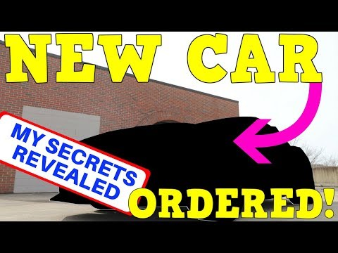 ORDERING a  MUSTANG GT (My Secret Exposed)