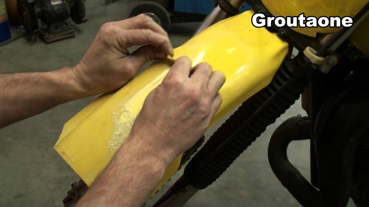 how to clean plastic fender