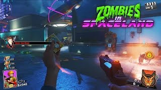 ZOMBIES IN SPACELAND GAMEPLAY!