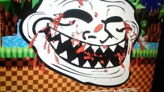 Troll face no sonic.exe? Nova série! Easter-eggs em jogos