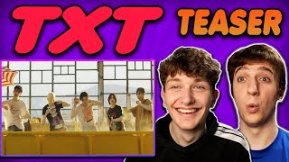 TXT - '0X1=LOVESONG (I Know I Love You) Official Teaser REACTION!!