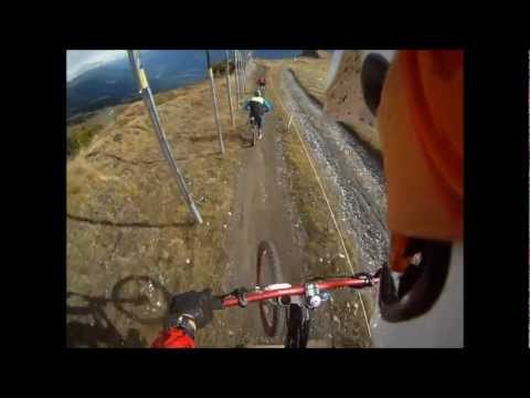 Downhill mountain bike crans montana with Bike-Alp