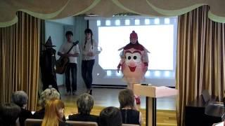 Визитка конкурс стендовых уроков, 2013 год