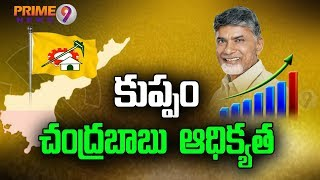 Chandrababu Leading In Kuppam After Early Trends | 2019 Poll Results ...
