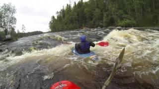 Новые радости (Лиекса, Ruunaa, Neitikoski, 28.07-30.07.2013). Freestyle kayaking.