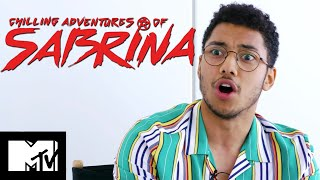 Chilling Adventures of Sabrina's Chance Perdomo Plays Guess The Thirst Tweet | MTV Movies