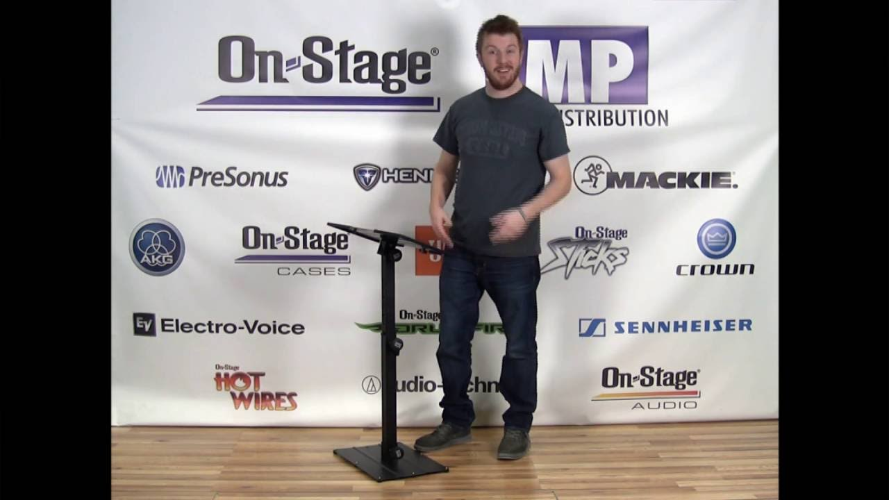 On-Stage Stands KS6150 Compact MIDI//Synth Utility Stand