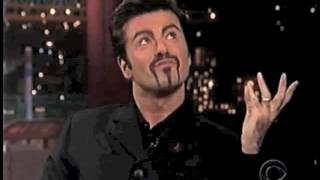 George Michael on Late Show, November 9, 1998