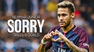 Neymar  Sorry  Skills  Goals 2018  HD