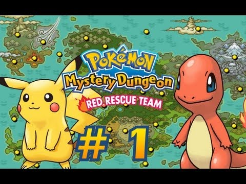 Pokemon Mystery Dungeon Red Rescue Team Co-Op #1