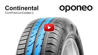 Continental ContiPremiumContact 2 ● Summer Tyres ● Oponeo™