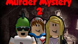 ROBLOX - PLAYING MURDER MYSTERY 2 WITH JENTPLAYS AND SAMANTHA STRANGE!