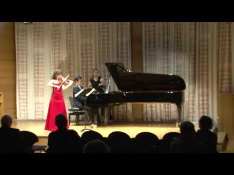 Sadie Fields, Violin - Bartok Andante