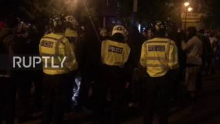 UK: Police make arrests following clashes in East London