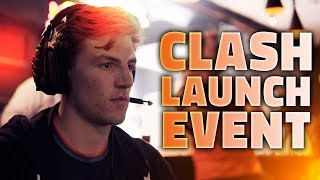 WE HELPED RIOT GAMES LAUNCH CLASH | UK LEAGUE OF LEGENDS EVENT AT LOADING BAR