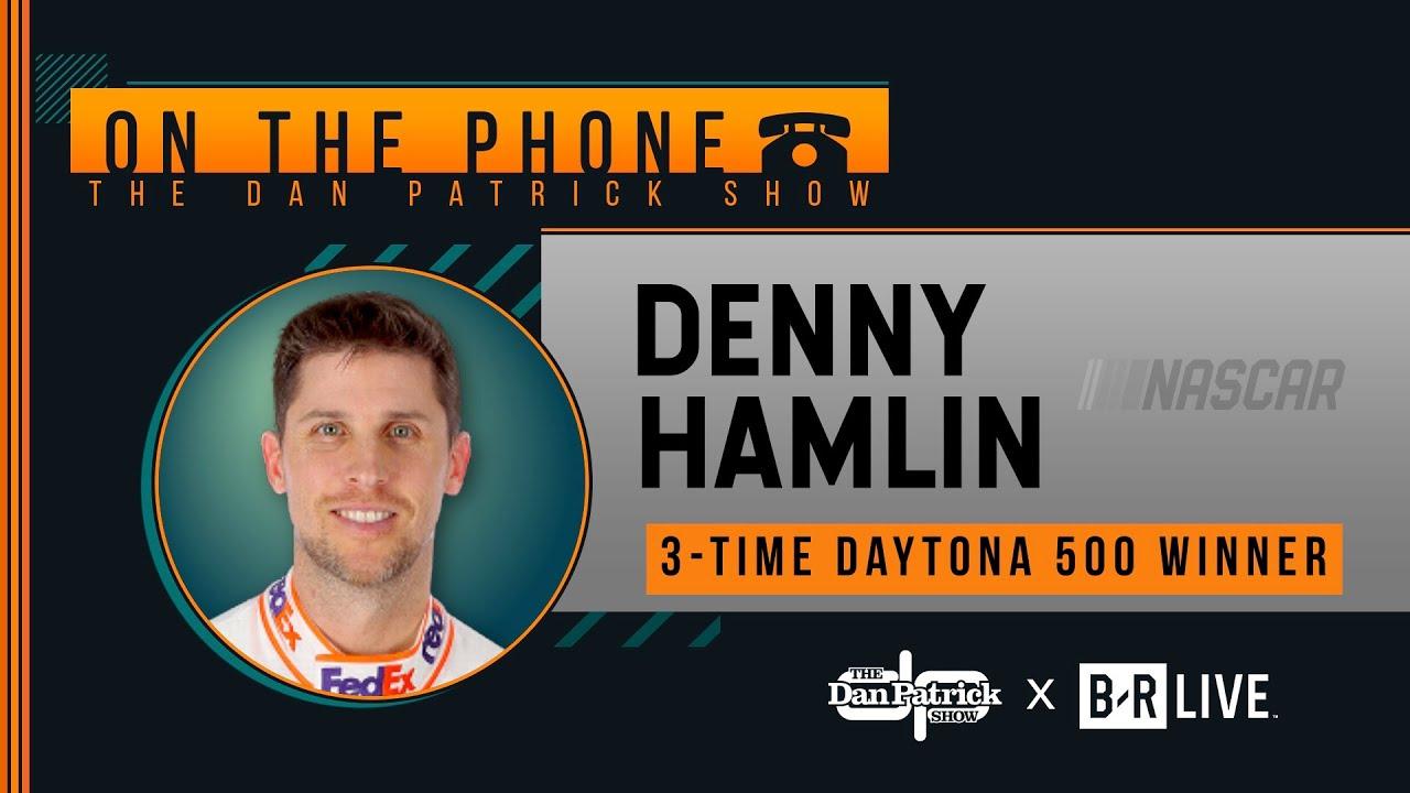 NASCAR's Denny Hamlin Talks Daytona 500 Win, Ryan Newman with Dan Patrick | Full Interview | 2/18/20